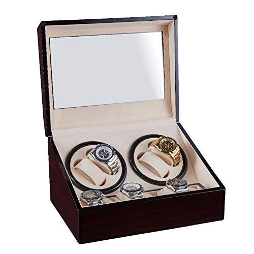 HOSEN Luxury Automatic Watch Winder Storage Display Box