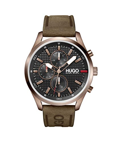 HUGO by Hugo Boss Men's Chase Stainless Steel Quartz Watch