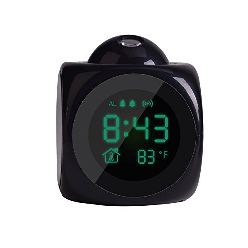 LCD Clock Projection Alarm Clock for Bedrooms