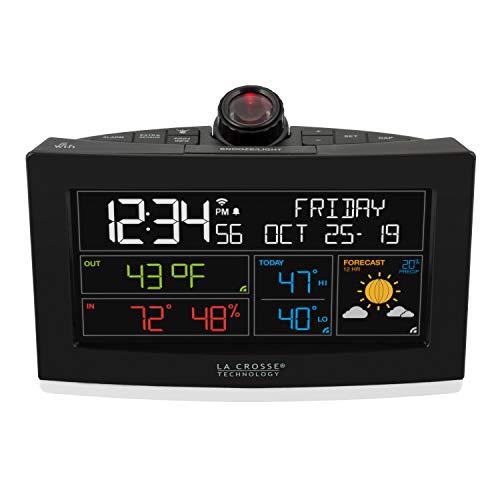 La Crosse Technology WiFi Projection Alarm Clock