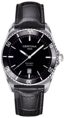 Certina Men's Watch Analogue XL