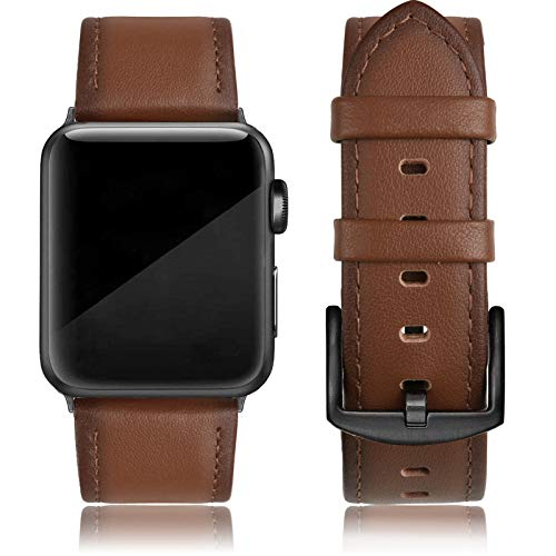 EDIMENS Leather Bands Compatible with Apple Watch