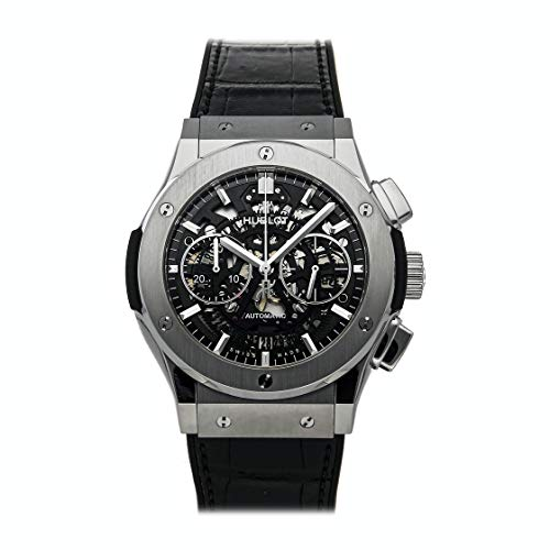 Certified Pre-Owned Hublot Reference Watch.