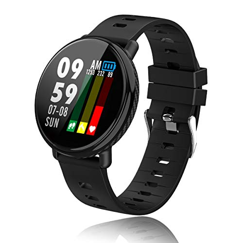 Smartwatch Activity Tracker with Heart Rate Sleep Monitor