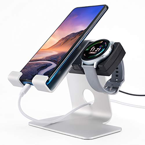 Tranesca 2-in-1 Charger Stand Holder Compatible with Samsung