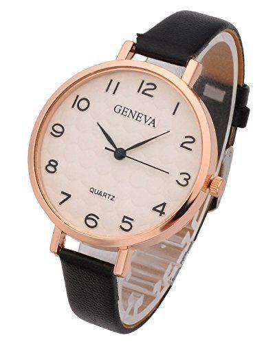 Top Plaza Womens Ladies Analog Quartz Wrist Watch