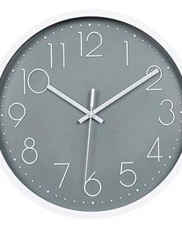 Silent Non-Ticking Wall Clock