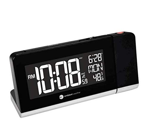 Ambient Weather Projection Alarm Clock