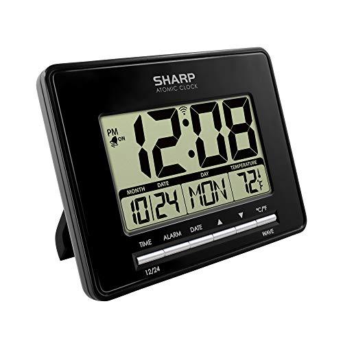 Auto Set Digital Alarm Clock Atomic Accuracy
