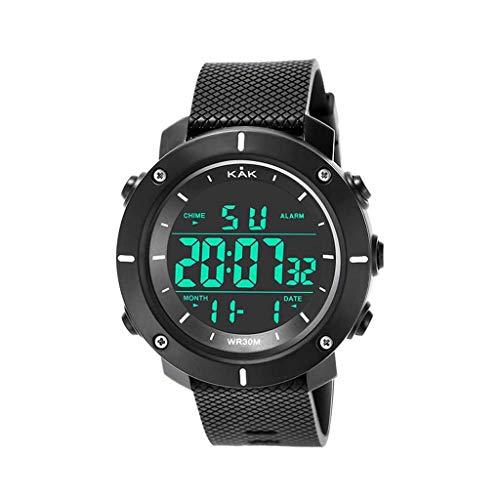 Riforla Mens Watches, Fashion Digital Watch, High-End Military Watch