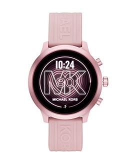 Blush/Pink Michael Kors MKGO Touchscreen Aluminum and Silicone Smartwatch