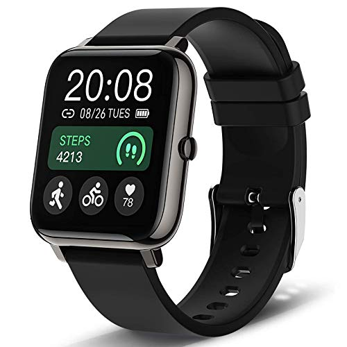 Smartwatch with Blood Pressure Fitness Tracker