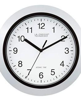 La Crosse Technology Atomic Analog Wall Clock