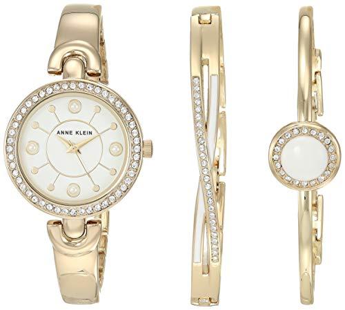 Anne Klein Swarovski Crystal Accented Watch