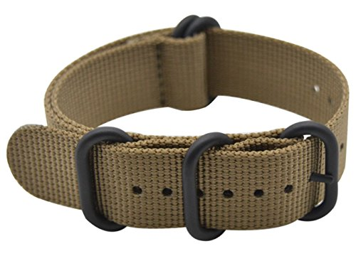 Watch Band Nylon Material Strap and High-End Black Buckle