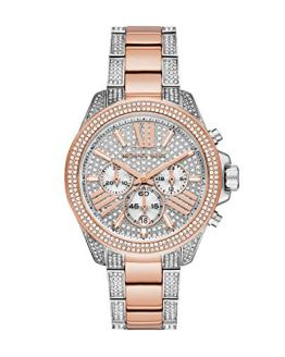 Michael Kors Wren Quartz Watch with Stainless Steel Strap