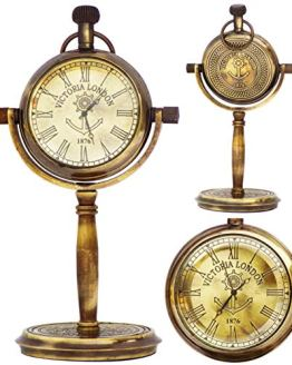 JD'Z COLLECTION Brass Nautical Marine Desk