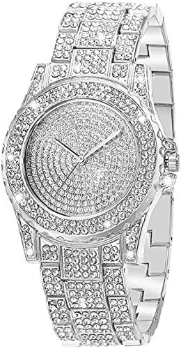 Iced Out Wristwatch Full Diamonds