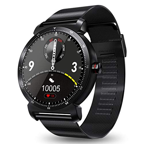 Plus Smart Watch Fitness Tracker with Heart Rate Monitor