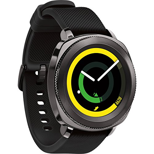 Samsung Gear Sport Smartwatch, Black