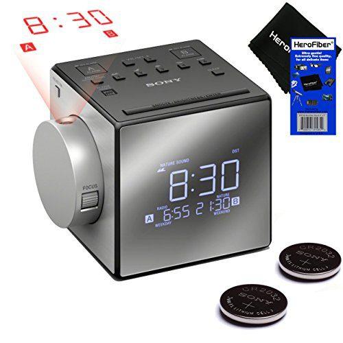 Snooze Sony Projector Dual Alarm Clock