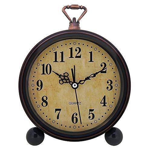 Konigswerk Vintage Alarm Clock , Analog Table Desk Clock