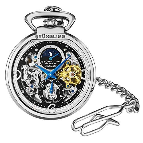 Stuhrling Orignal Mens Pocket Watch Automatic