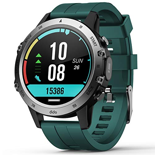 Fitness Tracker with Blood Pressure Heart Rate Blood Oxygen Monitor Smart Watch