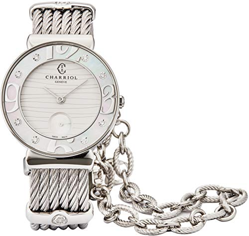 Mother of Pearl Face Ladies Watch Charriol St Tropez