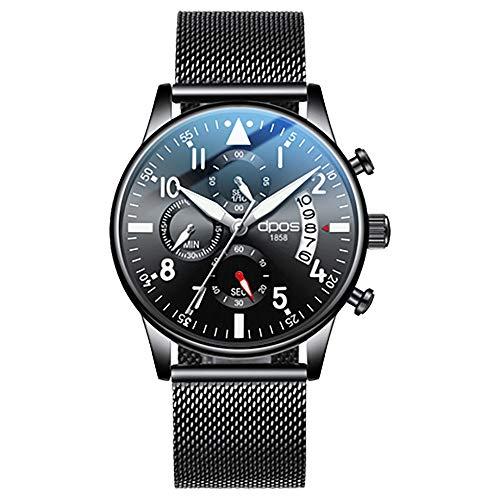 DPOS Men Watches Ultra Thin Waterproof Automatic Watch