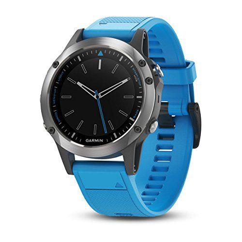 Stainless Steel with Blue Band Garmin quatix Multisport Marine Smartwatch