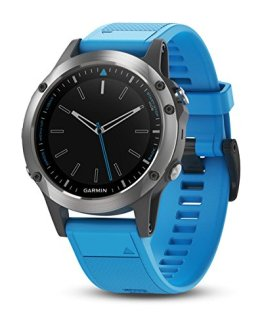 Stainless Steel with Blue Band Garmin quatix Multisport Marine Smartwatch