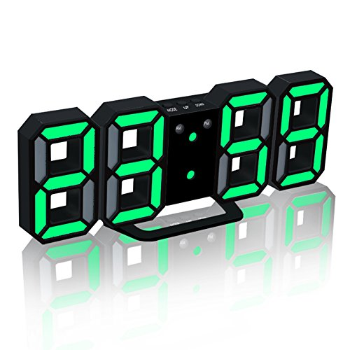 EAAGD Electronic LED Digital Alarm Clock