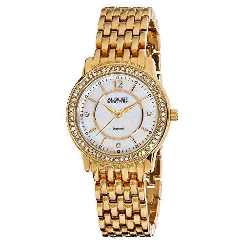 August Steiner Women's Petite Diamond Watch - Dazzling Diamond