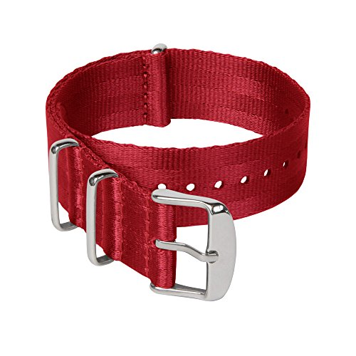 Red Watch Straps Heavy Duty Military Style
