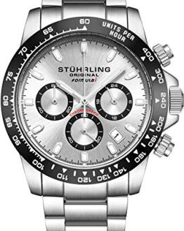 Stuhrling Original Mens Sport Chronograph Watch