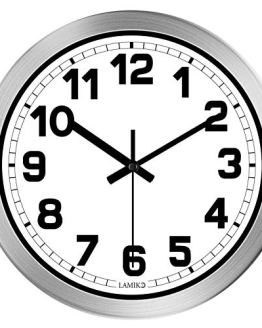 Non-Ticking Silent Wall Clocks for Room Home Kitchen
