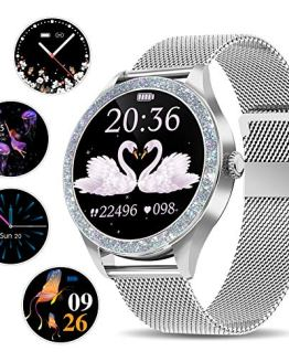 Fitness Smartwatch Compatible with iPhone Samsung Android Phone