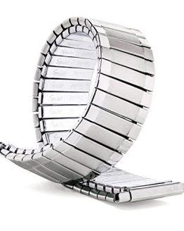 Speidel Men's Twist-O-Flex XL Stainless Steel Stretch