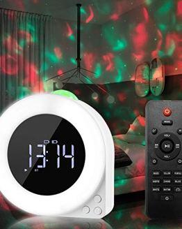 Alarm Clock Star Projector Night Light