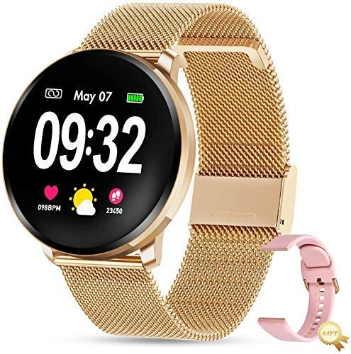 GOKOO Smart Watch for Women Men Compatible with iOS