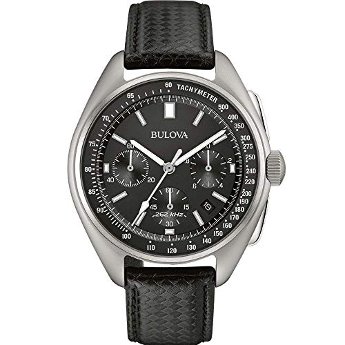 Lunar Pilot Chronograph Watch Bulova Men's