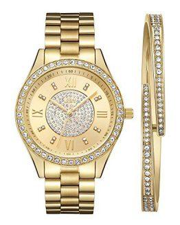 Diamond Swarovski Crystal Wrist Watch JBW Luxury