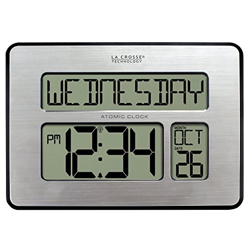 Full Calendar Clock with Extra Large Digits