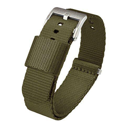 20mm Army Green Watch Strap BARTON Jetson