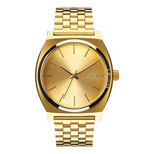 Nixon Time Teller All Gold Women's Watch