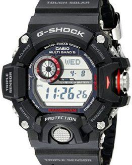 Casio Men's Master of G Stainless Steel Solar Watch