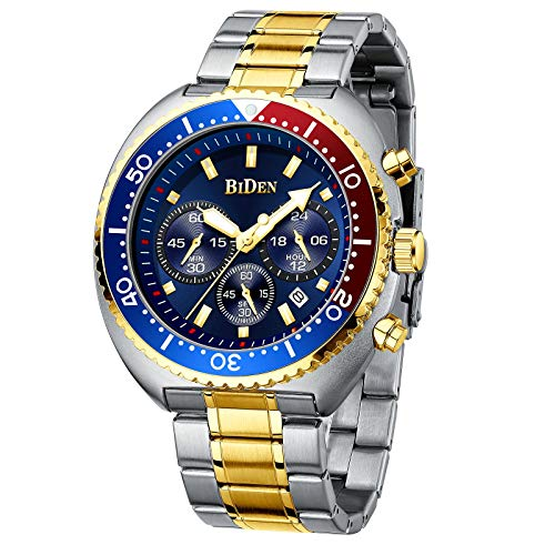 Mens Watches Fashion Business Chronograph Analogue