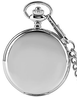 Smooth Pocket Watch Fob Chain Steampunk