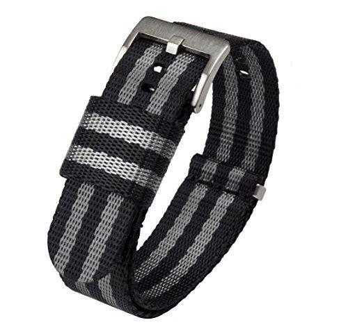 Jetson NATO Style Watch Strap 20mm Black